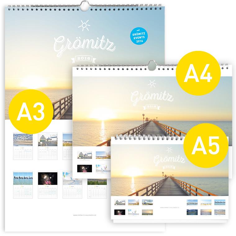 Grömitz Kalender Set 2016