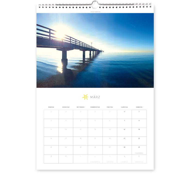 Grömitz Kalender A3 - Große Seebrücke