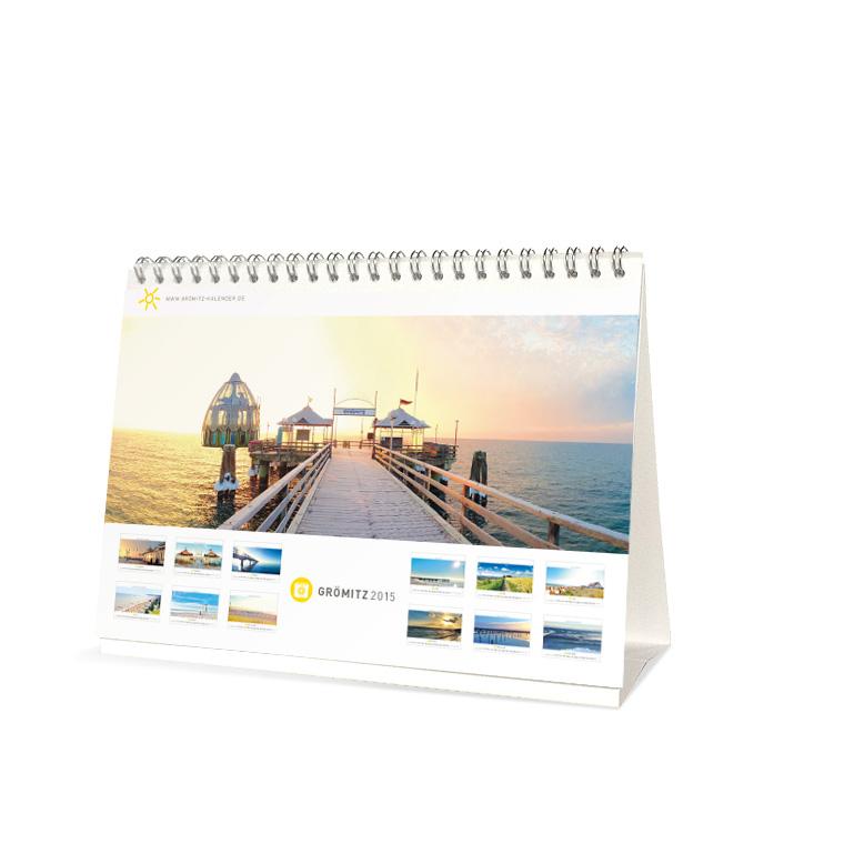 Grömitz Kalender A5 - Seebrücke