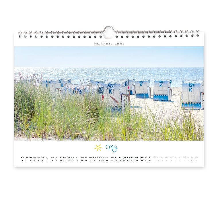 Grömitz Kalender 2017 Wandkalender DIN-A4