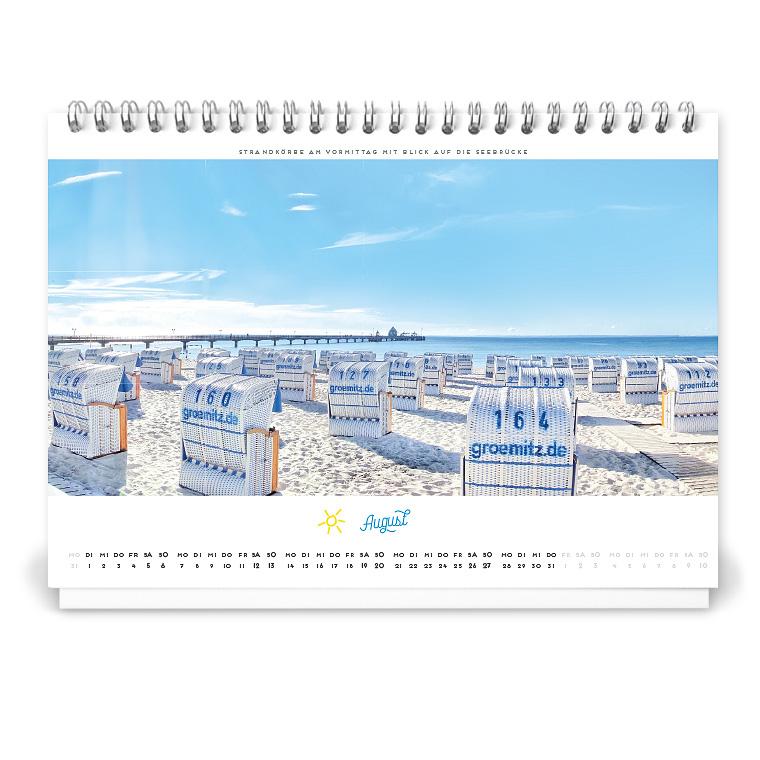 Grömitz Kalender 2017 Tischkalender DIN-A5