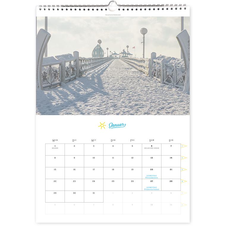 Grömitz Kalender 2018 A3