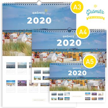 Grömitz-Kalender 2020 Set