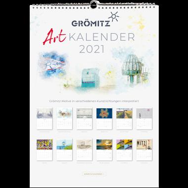 Grömitz Art-Kalender 2021 A3