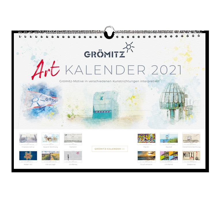 Grömitz Art-Kalender 2021 A4