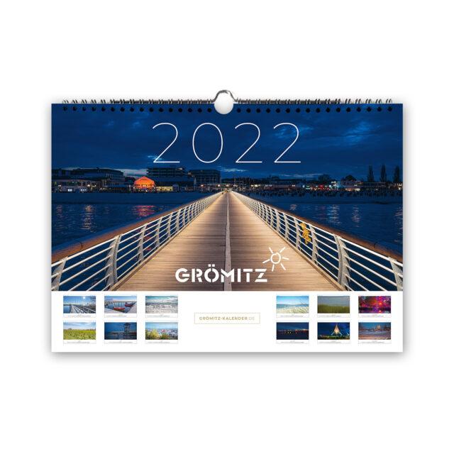 Grömitz A4 Wand-Kalender 2022