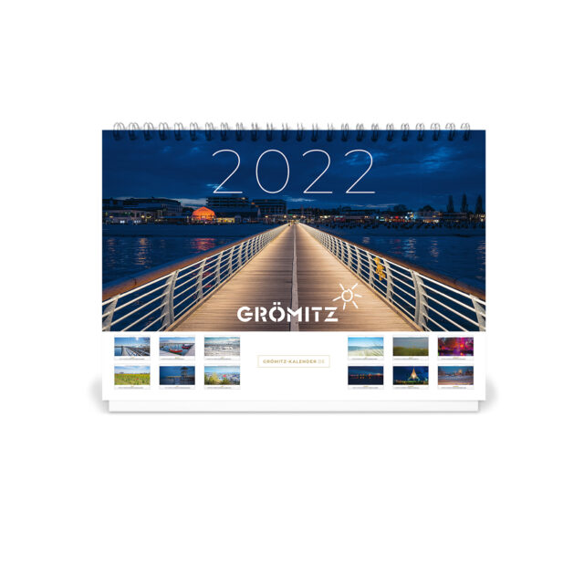 Grömitz A5 Tisch-Kalender 2022